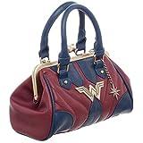 Wonder Woman Clamshell Handbag
