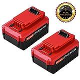 4000mAh for Porter Cable 20v MAX Lithium Battery Replace PCC685L PCC680L PCC682L PCC685LP Cordless Tools (2packs)
