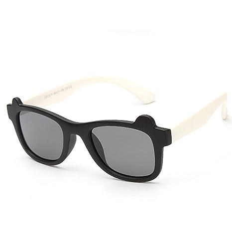 Zhongsufei Gafas de Sol Estilo Deportivo para niños Diseño ...