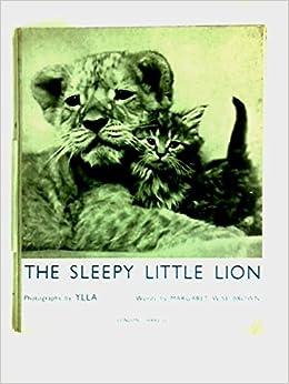 Book The Sleepy Little Lion