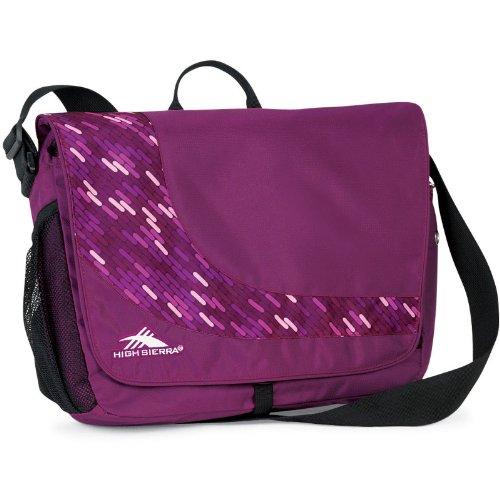 High Sierra Chip chip Messenger Bag Boysenberry Pattern/Pink