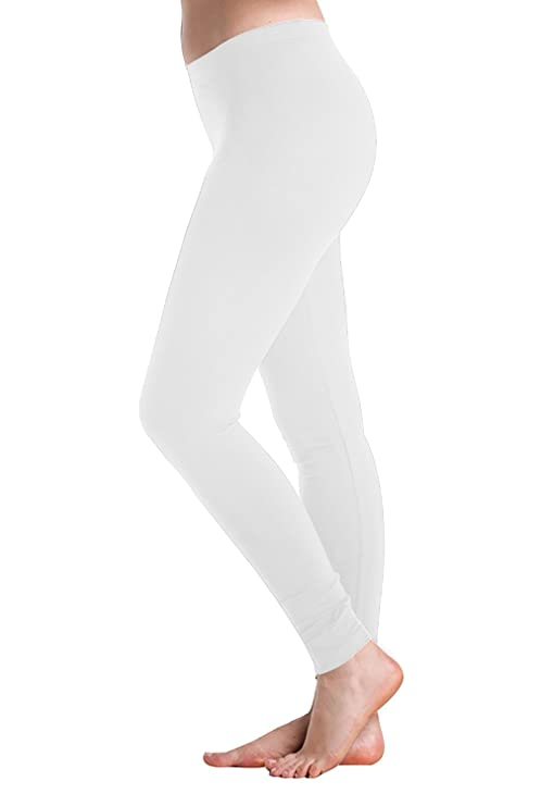 Beyond Clean Karma : Champion Om Life - Yoga Ankle Legging By In Touch (medium, white)