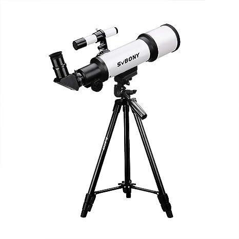 Svbony SV501Telescopio Adultos Principiantes 70//420 Telescopio Astronomico Profesional Adultos Principiantes con Ajustable Tr/ípode Telescopio para Principiantes Adultos 70mm