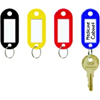 Steelmaster Key Tag with Label Window, 20 per Pack (MMF201400647)