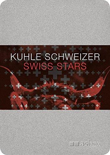 Kuhle Schweizer, Postkartenbox: Alu-Kartenbox mit 50 Postkarten