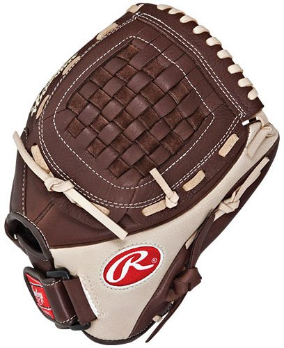 Rawlings Champion Series Infield Pitcher (Dark Brown/Light Tan, Right Hand Throw, 11 3/4-Inch)