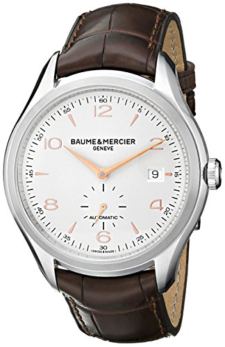 Baume-Mercier-Mens-BMMOA10054-Clifton-Analog-Display-Swiss-Automatic-Brown-Watch