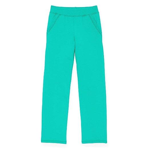 055e810a09916c Amazon.com: Hanes Girls Fleece Open Leg Sweatpants with Pockets (K377):  Clothing