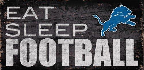 Ventilador Creaciones Detroit Lions Comer Dormir fútbol Signo ...