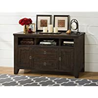 Jofran Kona Grove 50 Console Table in Deep Chocolate