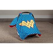 Wonder Woman Minky Carseat Canopy DC
