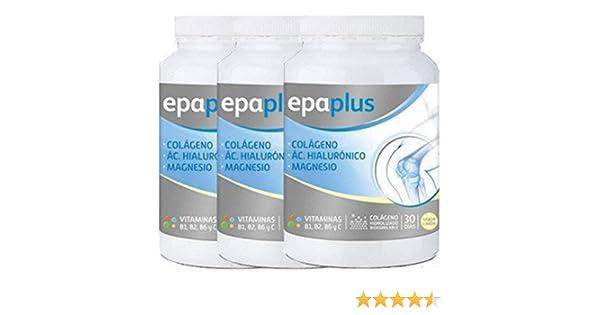 Epaplus - PACK 6U EPAPLUS COLAGENO+MAGNESIO+A. H. LIMON - PACK-6-epaplus- magnesio: Amazon.es: Salud y cuidado personal