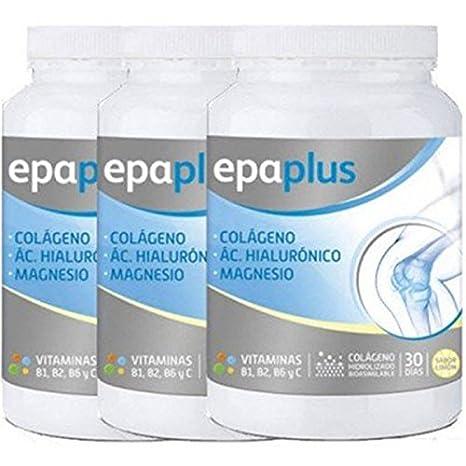 Epaplus - PACK 6U EPAPLUS COLAGENO+MAGNESIO+A. H. LIMON - PACK-6-epaplus-magnesio: Amazon.es: Salud y cuidado personal