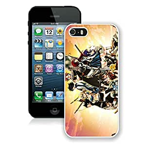 Fashion Designed Fairy Tail 2 White iPhone 5S Phone Case