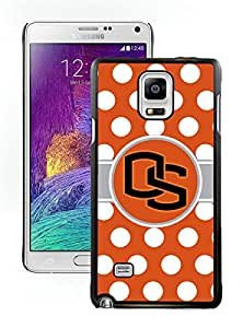 100% brand new NCAA Pacific 12 Conference Pac 12 Football Oregon State Beavers 04 Black Samsung Note 4 Case