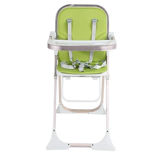 EBTOOLS Trona para Bebés Plegable con Cinturon de Seguridad Silla ...