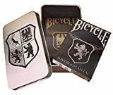 Bicycle Stainless and Copper Playing Card Set in Collectors Tin