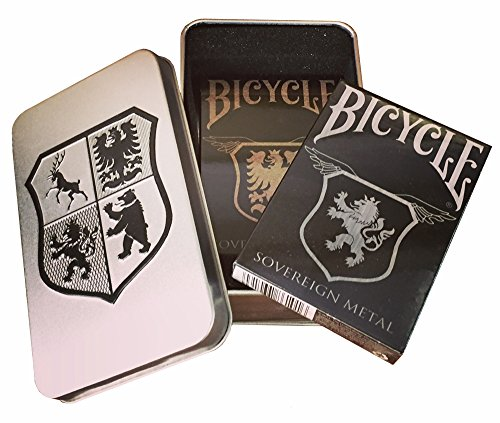 (Bicycle Stainless and Copper Playing Card Set in Collectors Tin)