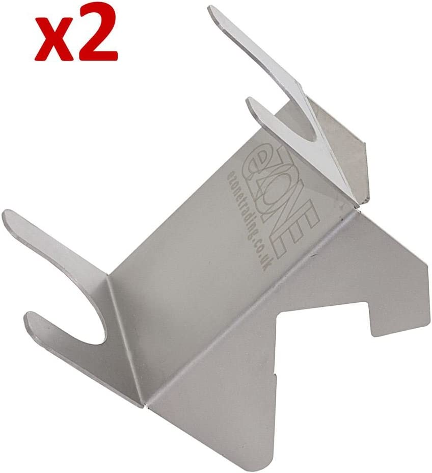 2 EASYCUT Archer Slicer Stand Donner Kebab Takeaway Stainless Steel Holder