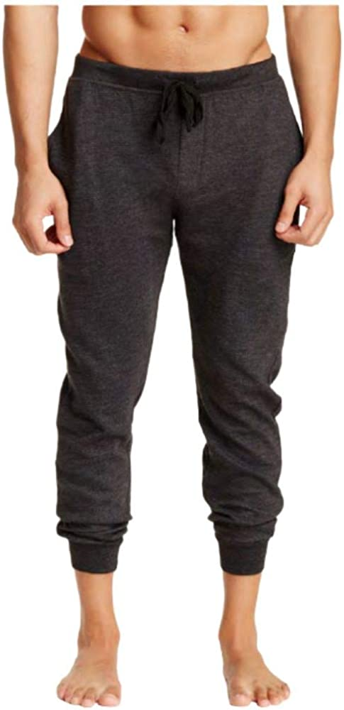 Bottoms Out Men's Ottoman Ribbed Textured Jogger