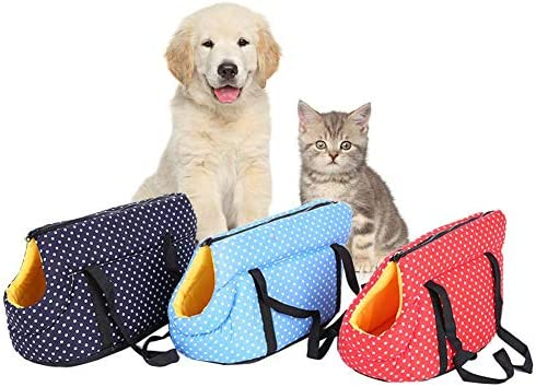 remote.S Bolsos para Animales Peque/ños De Esponja De Alta Elasticidad Transpirable Suave Ligera Mochilas del Mascotas para Perros Gatos Viajes Al Aire Libre