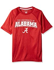 NCAA Men\'s Impact Heather Jersey T-Shirt, Garnet Heather, Sm...