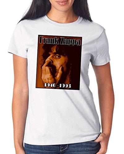 Frank Zappa T-Shirt Girls White Certified Freak