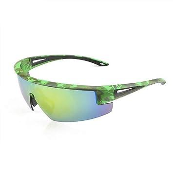WEATLY Gafas de Sol polarizadas para Deportes para el béisbol Ciclismo Pesca Superlight Frame UV400 (