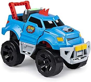 Demo Duke Crashing and Transforming Vehicle