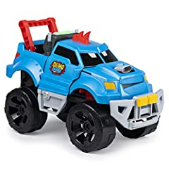 Crash, smash and demolish with Demo Duke, the truck that loves to crash! Demo Duke is easy for kids to use. Line him up for a powerful crash, then push the throttle and let him rip! When he crashes into walls and other objects, he gets more v...