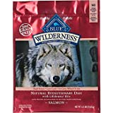Blue Buffalo Wilderness Grain Free Dry Dog Food, Salmon Recipe, 24-Pound Bag, My Pet Supplies
