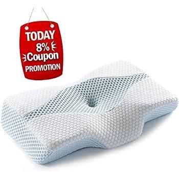 Amazon Com Cradle Me Cervical Pillow Orthopedic Contour
