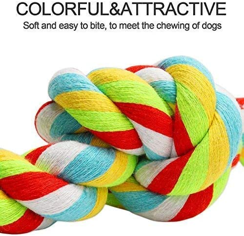Chew 3-Knot Thick... LEGEND SANDY Rope Dog Toys for Large Dogs