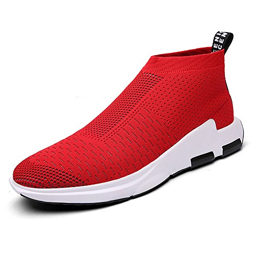 SITAILE Mens Slip on Breathable Running Shoes Fashion Sport Athletic Sneaker
