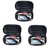 3 PRS Southern Seas Mens Womens Folding Reading & Travel +4.50 Glasses w Case 16 Strengths Available by Southern Seas