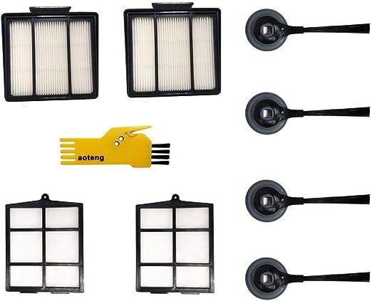 Filter Brush Kit For Shark ION Robot RV700/_N RV720/_N RV750/_N RV850BRN//WV Parts