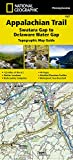 Appalachian Trail, Swatara Gap to Delaware Water Gap [Pennsylvania] (National Geographic Topographic Map Guide)