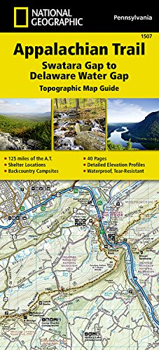Appalachian Trail, Swatara Gap to Delaware Water Gap [Pennsylvania] (National Geographic Trails Illustrated - Shopping Outlet Delaware
