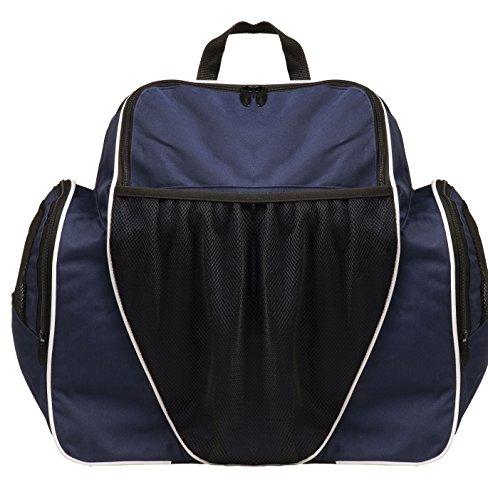 "Deluxe All Purpose Backpack 18"" x 19"" x 10"", Dark Navy, 18"""