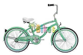 Micargi Jetta Mint Green Girls 20 Beach Cruiser