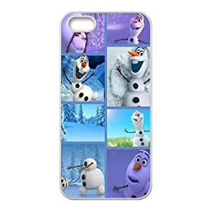 diy zhengFrozen lovely happy snow man Cell Phone Case for iPhone 6 Plus Case 5.5 Inch /
