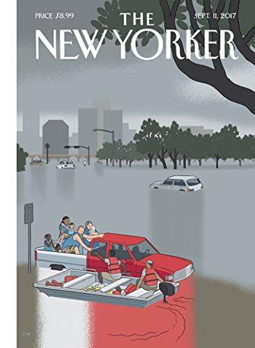 The New Yorker Magazine (September 11, 2017) Hurricane Harvey Cover