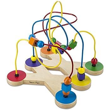 Melissa & Doug Classic Bead Maze - Wooden Educational Toy