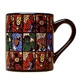marvel grid mug - Silver Buffalo MV9132 14oz Marvel Grid Mug - Quantity 4