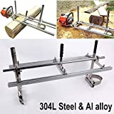 "Chainsaw Mill 36"" Inch Portable Chain Saw Mill Aluminum Steel Saw Mill 14""-36"" Planking Lumber Cutting Milling (14-36 inch)"