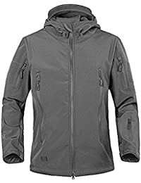"<span class=""a-offscreen"">[Sponsored]</span>Men's Military Softshell Tactical Jacket Hooded Fleece Coat"