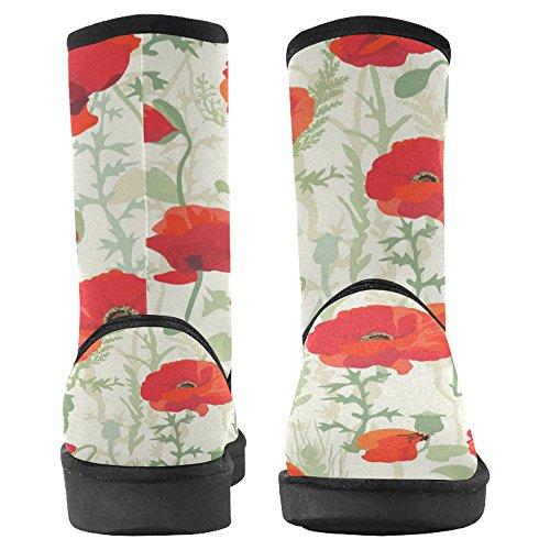 Snow Boots Da Donna Interesse Design Unico Invernale Comfort Stivali Multi 30