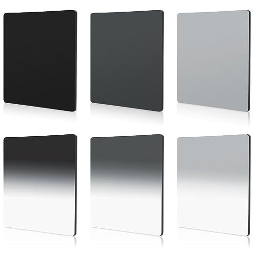 2 opinioni per Set 6pz Filtri ND2 ND4 ND8 G.ND2 G.ND4 G.ND8 Graduale Per Cokin P Serie Series