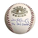 Jim Edmonds Autographed St Louis Cardinals 2006 World Series Signed Baseball Beckett BAS COA