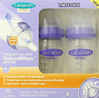Lansinoh mOmma Bottle with NaturalWave Nipple